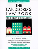 The Landlord s Law Book  Rights and responsibilities