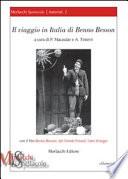 Il viaggio in Italia di Benno Besson