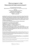 Zeitschrift f  r Geschichtswissenschaft