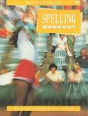 Spelling Workout  Grade 4
