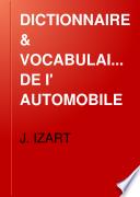 DICTIONNAIRE   VOCABULAIRE DE I  AUTOMOBILE