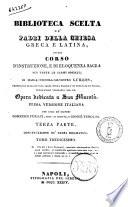 Biblioteca Scelta De Padri Della Chiesa