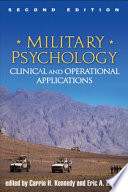 Military Psychology  Second Edition