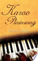 Karoo Plainsong book