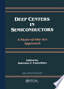 Deep Centers in Semiconductors