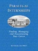 Paralegal Internships