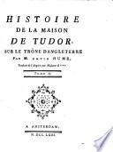 Histoire De La Maison De Tudor Sur Le Trône D'Angleterre