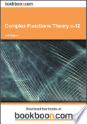 Complex Functions Theory c 12