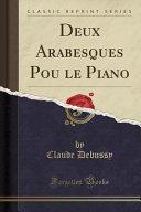 Arabesque Piano par Claude Debussy
