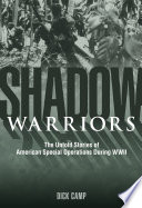 Ebook Shadow Warriors Epub Dick Camp Apps Read Mobile