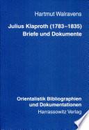 Julius Klaproth (1783-1835)