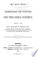 Shakespeare and Fletcher Book PDF