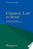 Criminal Law in Spain