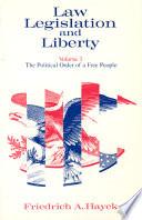 Law Legislation And Liberty Volume 3 book