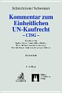 Kommentar zum einheitlichen UN-Kaufrecht