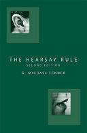 The Hearsay Rule
