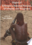 Digest of Ethiopia s National Policies  Strategies and Programs