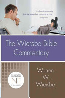 The Wiersbe Bible Commentary  New Testament