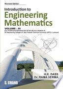 Introduction to Engineering Mathematics Vol III  GBTU