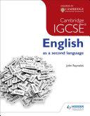 Cambridge IGCSE English as a second language + CD