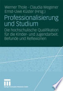 Professionalisierung und Studium