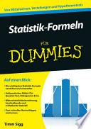 Statistik Formeln f  r Dummies