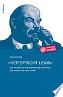 """""""Hier spricht Lenin"""""""
