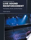 Introduction to Live Sound Reinforcement