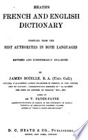 Heath s French and English Dictionary