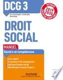 Dcg 3 Droit Social Manuel