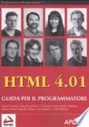 HTML 4 01  Guida per il programmatore