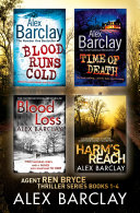 download ebook alex barclay 4-book thriller collection: blood runs cold, time of death, blood loss, harm's reach pdf epub