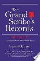 The Grand Scribe's Records: pt. 2. The memoirs of Han China