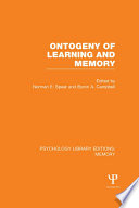 Ontogeny of Learning and Memory (PLE: Memory)