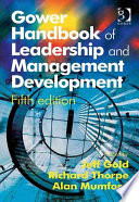 Gower Handbook Of Leadership And Management Development : value of leadership and management development and...