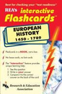 European History 1450 1789 Interactive Flashcard Book