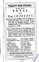 England's blaek Tribunal