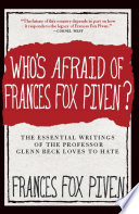Who s Afraid of Frances Fox Piven