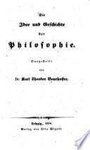Die Idee und Geschichte der Philosophie