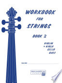 Workbook for Strings  Book 2 for Viola