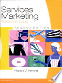 Services Marketing  Text and Cases  2 e