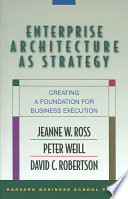 Enterprise Architecture As Strategy : roles, systems, infrastructure, and data in core...