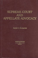 Supreme Court And Appellate Advocacy