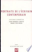 Portraits de l   crivain contemporain