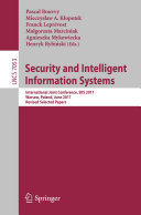 download ebook security and intelligent information systems pdf epub