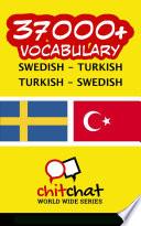 37000  Swedish   Turkish Turkish   Swedish Vocabulary