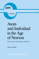 download ebook atom and individual in the age of newton pdf epub