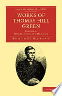 Works of Thomas Hill Green