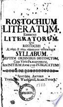 Rostochium literatum0