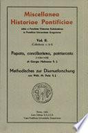 Miscellanea Historiae Pontificiae